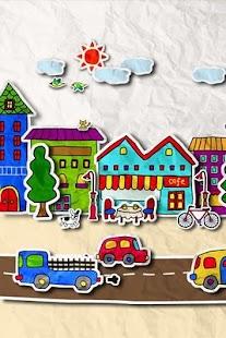 paper town 3Dライブ壁紙 - screenshot thumbnail