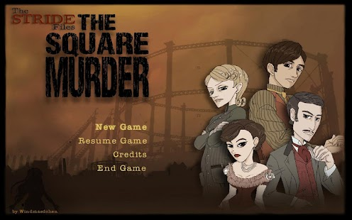 Stride Files The Square Murder Screenshot