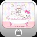 Charmmy Kitty Bath Screen Lock icon