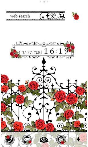 Simple Wallpaper Rosy Fence 1.0 Windows u7528 1