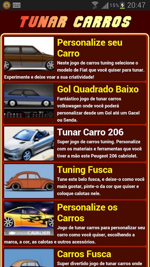 Jogos de tunar carros - screenshot