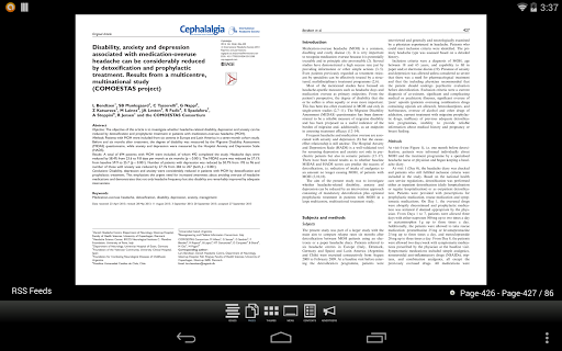 Cephalalgia Journal