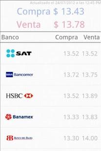 Tipo de Cambio Tijuana - screenshot thumbnail