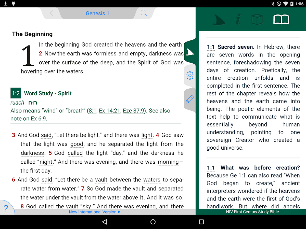 Niv first century study bible android apps on google play niv first century study bible screenshot sciox Choice Image