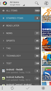 InoReader | News+- screenshot thumbnail