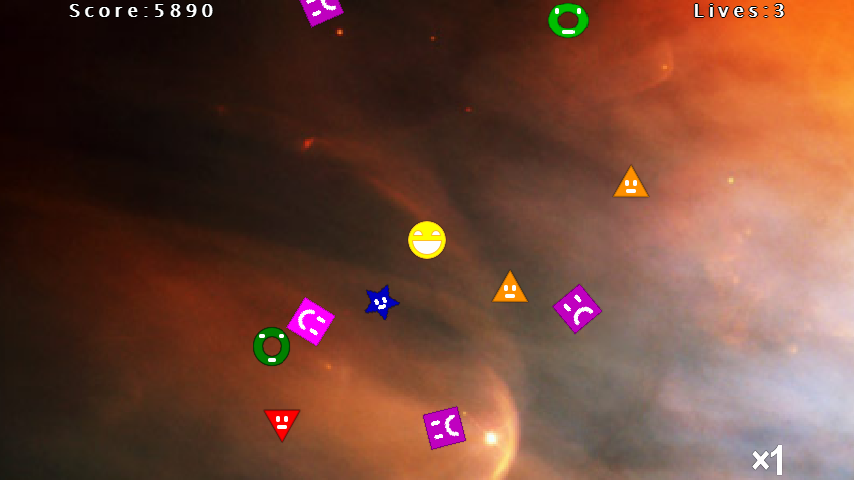 Smiley: Cosmic Guardian (Full) - screenshot