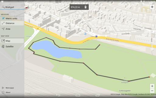 Maps Measure 1.4.2 screenshots 6