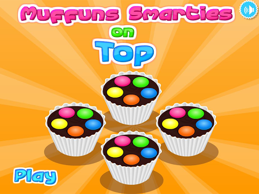 Muffins Smarties On Top