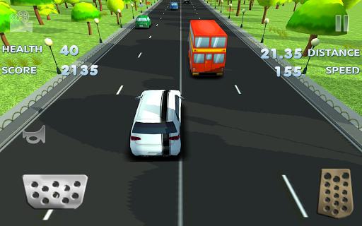3D Fast Toon Traffic Racer