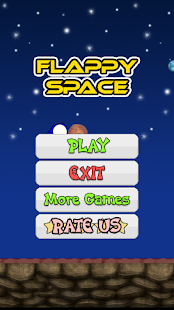 Flappy Space- screenshot thumbnail