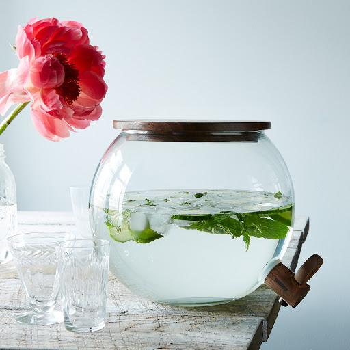 Handblown Glass Drink Dispenser