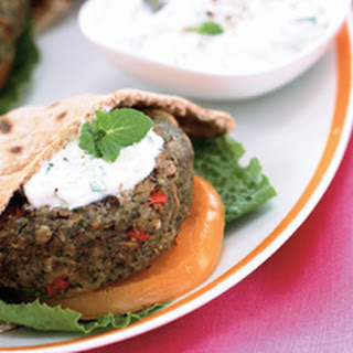 Greek-Style Lentil Burgers