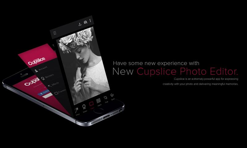 Cupslice Photo Editor - screenshot