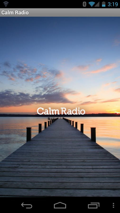 Calm Radio Multimix Version 7 - screenshot