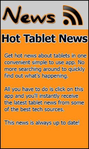 Hot Tablet News