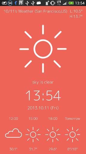 WeatherLockScreen 3.2 Windows u7528 2