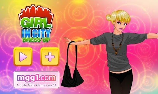 Girl in City Dress Up - screenshot thumbnail