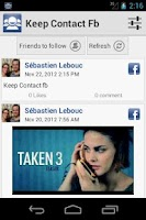Screenshot of Keep Contact fb