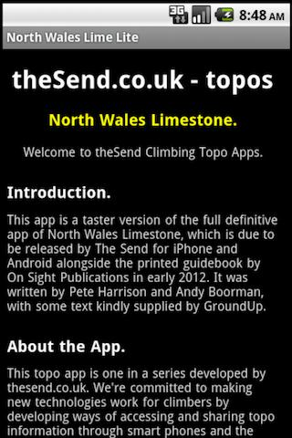 North Wales Limestone Lite - screenshot