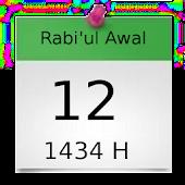 Hijriyah/Islam Calendar Widget