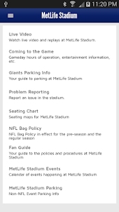 New York Giants Mobile- screenshot thumbnail
