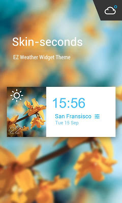 G3 Style Weekly Weather Widget - screenshot