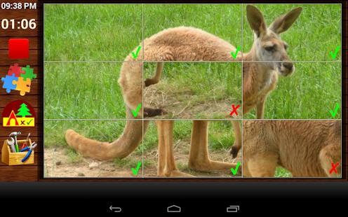 Kids Wild Animal Jigsaw Puzzle