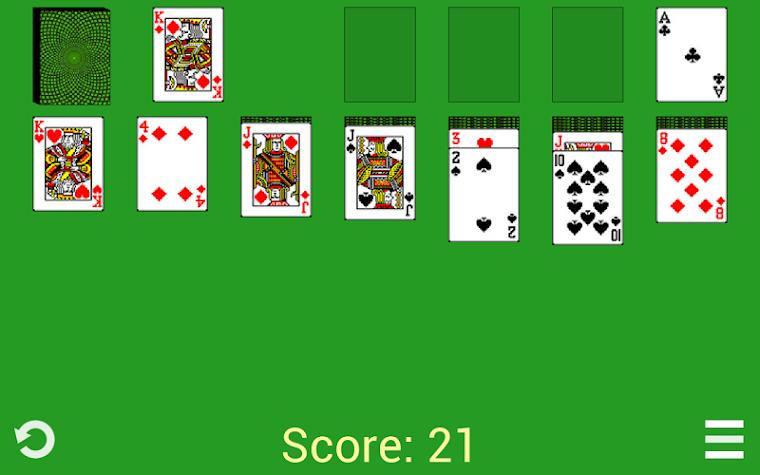 Solitaire Klondike Classic Screenshot