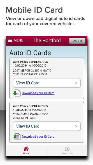 The Hartford Mobile - screenshot