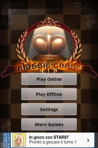 Classics Chess Online- screenshot