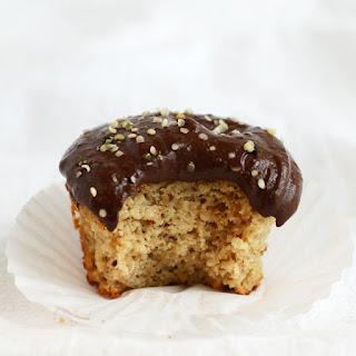 Single Serve Paleo Vanilla Cupcake