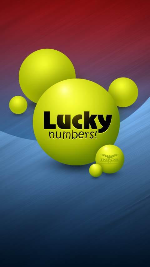 Lucky Numbers - screenshot
