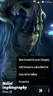 Advance Deviant Muzei - screenshot thumbnail