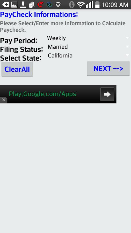pay stub calculator california