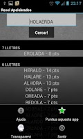 Screenshot of Resol Apalabrados en Català
