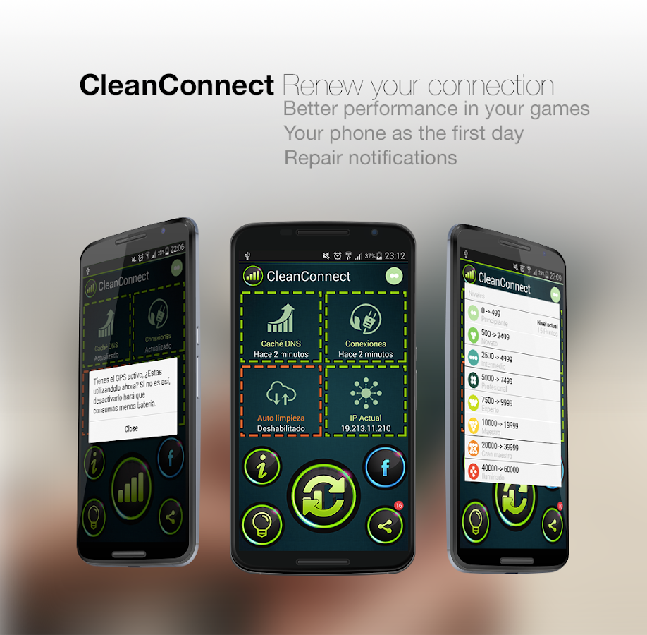 CleanConnect Master Connection- screenshot
