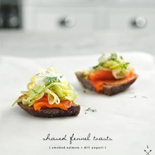 Lemon Fennel Toasts
