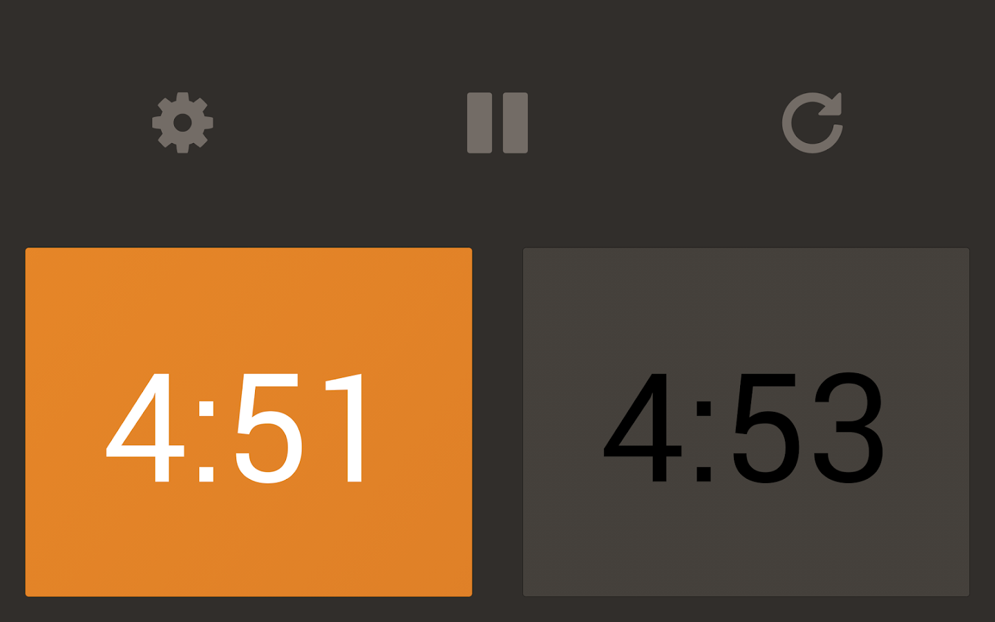 Chess Clock- screenshot