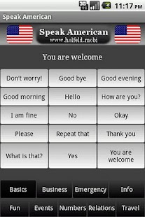 Speak American- screenshot thumbnail