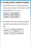Screenshot of Rangkuman Bahasa Inggris SMP