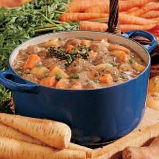Vegetable Meatball Stew