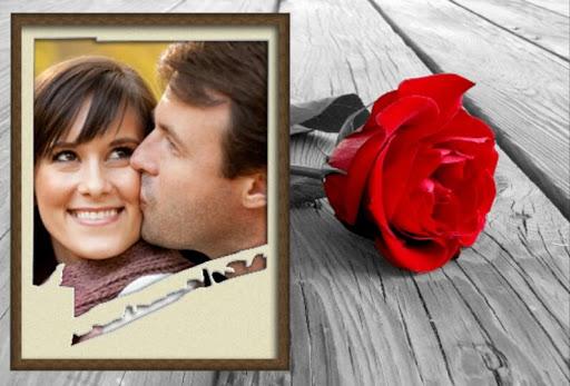 ロマンチックなフォトフレーム