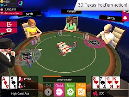 Screenshot of Avakin Poker - 3D Social Club
