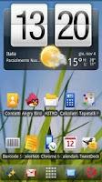 Screenshot of Symbian Theme ADW Donate