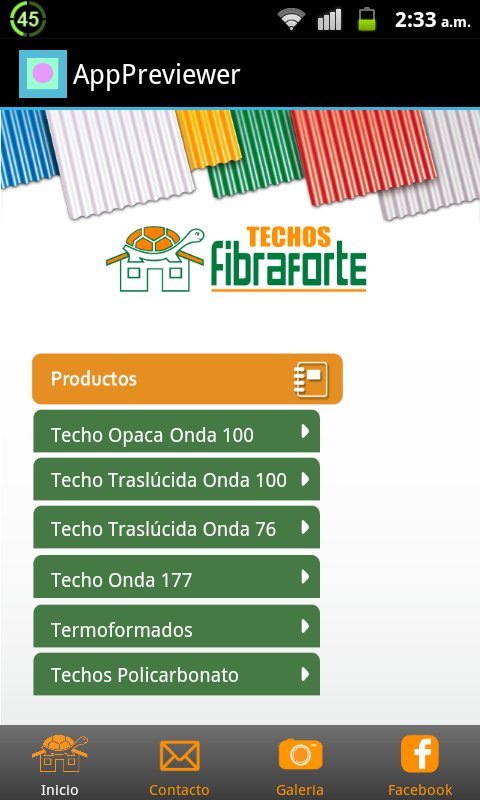 FIBRAFORTE- screenshot