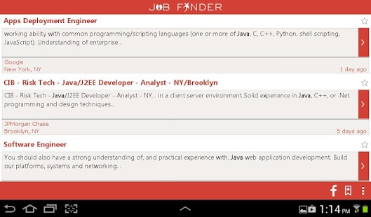 Job finder app - India jobs - screenshot thumbnail