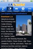 Screenshot of LAtourist - Los Angeles