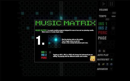Music Matrix Screenshot 1