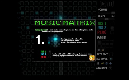 Music Matrix - screenshot thumbnail