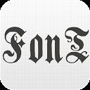 BlackLetter Pack FlipFont®Free mobile app icon